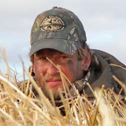 Bob Matthys duck hunting