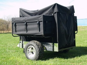 Duck Decoy Trailer in Black